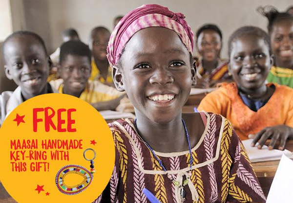 Help a Girl Get an Education with World Vision Smiles