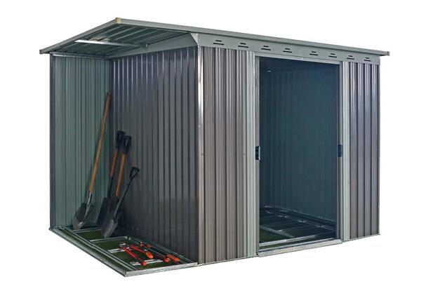 garden shed incl side storage grabone nz