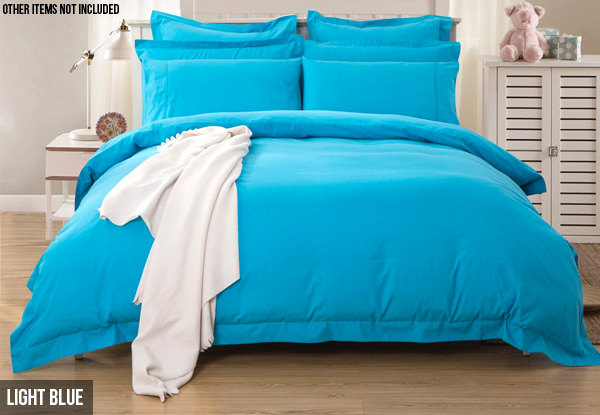 1000TC Ultra Soft Duvet Cover Set - Five Sizes & Extra Pillowcase Options Available
