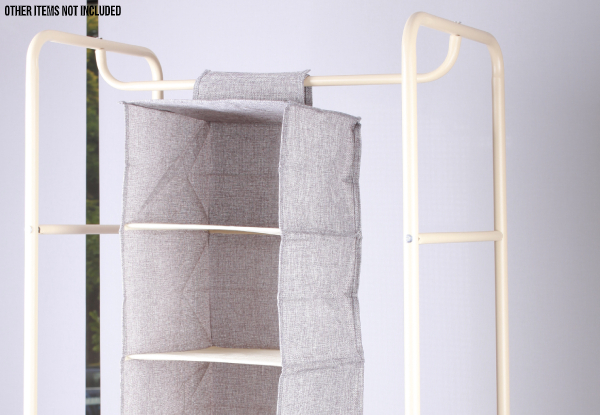 Foldable Closet Hanging Organiser - Two Sizes Available