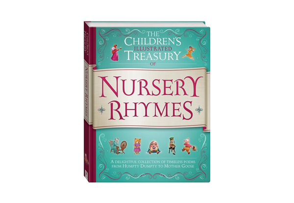 Childrens Illustrated Treasury of Nursery Rhymes with Free Delivery