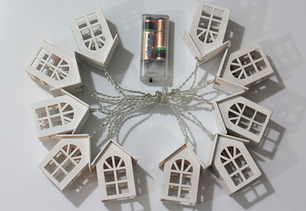 Light Bulb String Lights Nz : Little House LED String Lights GrabOne NZ