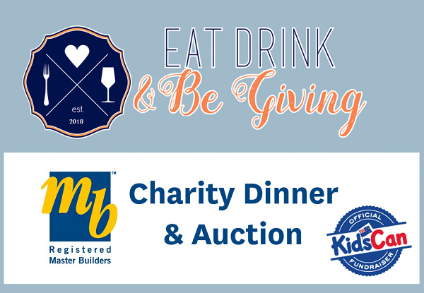 Two Tickets to Master Builders Charity Dinner & Auction - Options for up to Eight Tickets