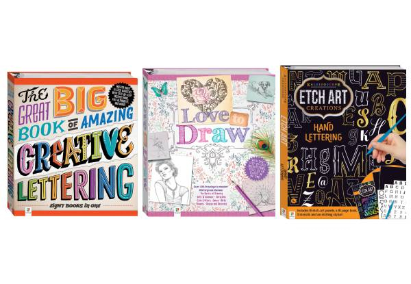 Creative Book Range - Three Options Available