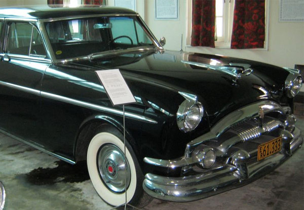 Two Entries to a Two-Hour Museum Tour of the World's Largest Packard Collection - Option for a Family Pass