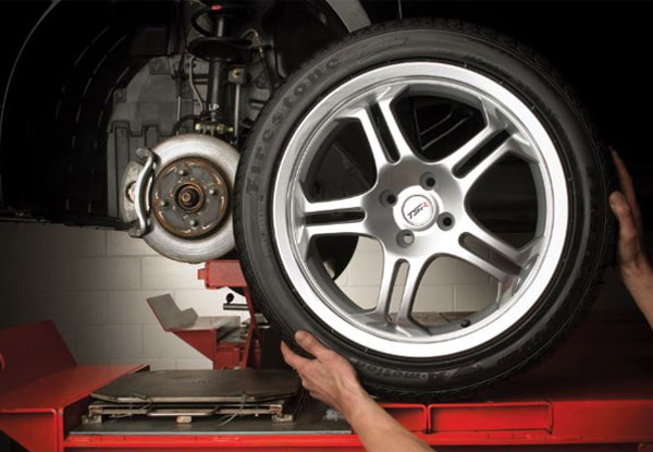 Wheel Balance, Nitrogen Inflation, Rotation & Visual Brake Check - Four Locations Available