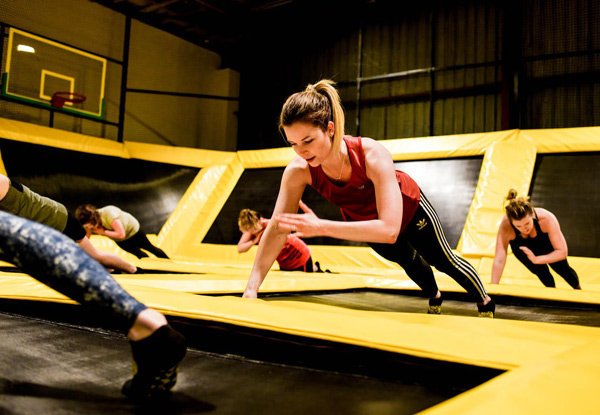 Five Fun Trampoline Fitness Classes Run by Qualified Personal Trainers - Avondale & Grey Lynn Locations