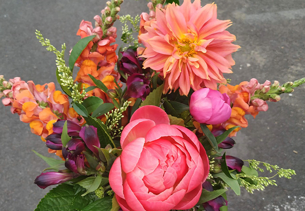Beautiful Hand-Tied Flower Bouquets - Four Styles Available