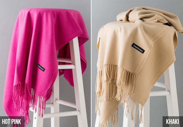 Cashmere Scarf - 20 Colours Available