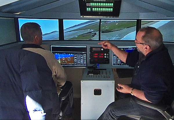 One-Hour Virtual Flight Simulation - Option for Two Hours