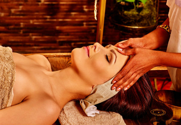 Ayurveda 65-Minute Therapeutic Relaxation Massage - Options for Hot Stone or Back & Head Massage - Options for up to Two People