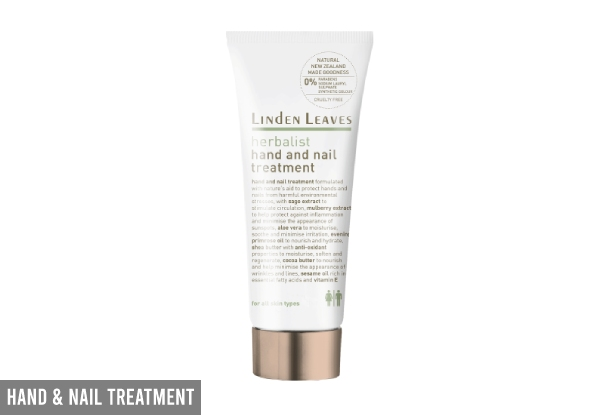 Linden Leaves Hand & Foot Cream Range - Five Options Available