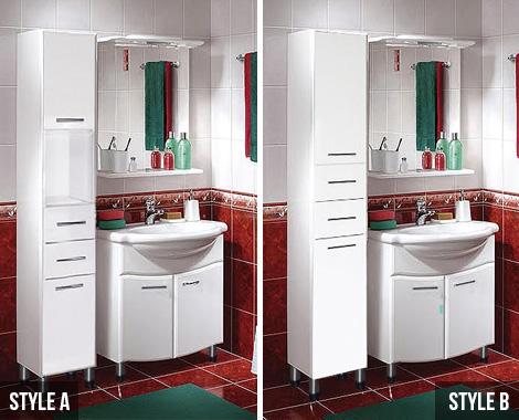 180cm Bathroom Storage Cabinet Grabone Nz