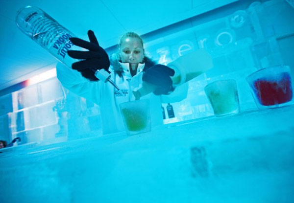 $16 for an Adult Entry to Below Zero Ice Bar incl. One Cocktail – Family Entry Option Available (value up to $85)