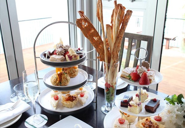 High Tea for Two People incl. Two Glasses of Bubbles - Options for Four & Six People Available