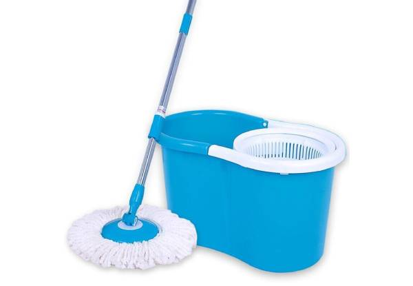 360° Rotating Spin Mop - Four Colours Available