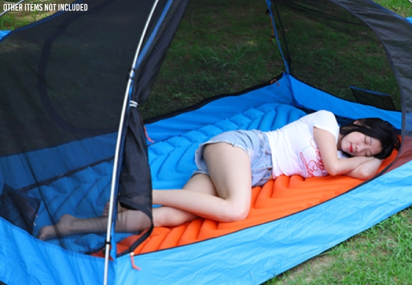 Outdoor Inflatable V Sleeping Pad - Five Colours Available