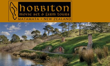 Hobbiton tour discount code