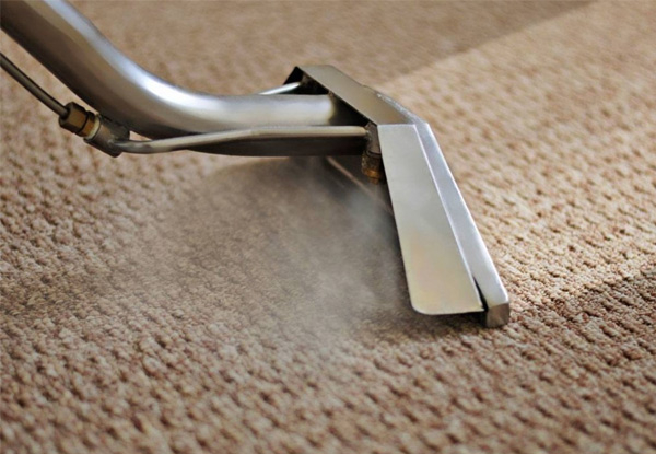 Expert Carpet Steam Clean & Shampoo for a One-Bedroom Home incl. Lounge, Dining Room, & One Hallway - Options for up to Three Bedrooms
