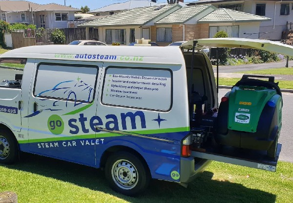 Waterless Mobile Car Valet for Exterior Steam Clean - Options for Interior Steam Clean or Exterior & Interior Combo