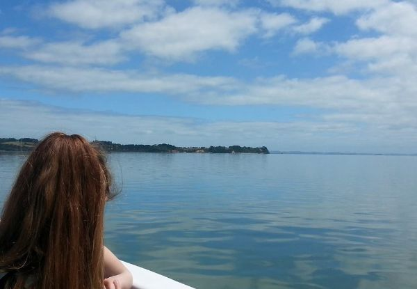 Five-Hour Kaipara River & Harbour Boat Cruise to Shelly Beach Return Pass - Options for Two Adults, a Child, or Family Pass
