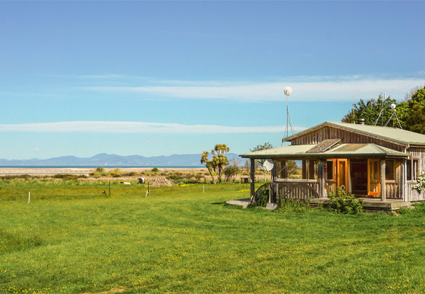 One-Night Getaway for Two People at the Abel Tasman Beach Bach or the Abel Tasman Creek House - Option for Two Nights