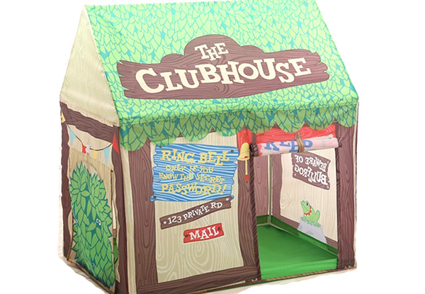 Kids Playhouse Tent with Tunnel - Option for Cake Shop or Clubhouse