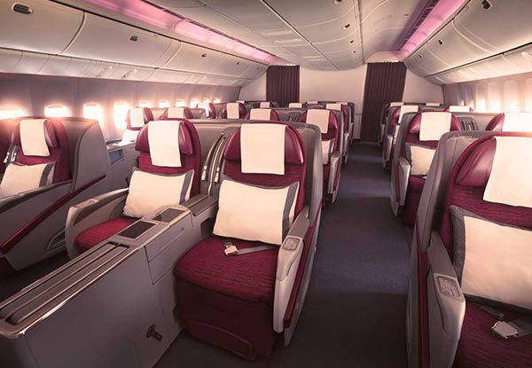 Be in to WIN return tickets to Europe for two people with Qatar Airways
