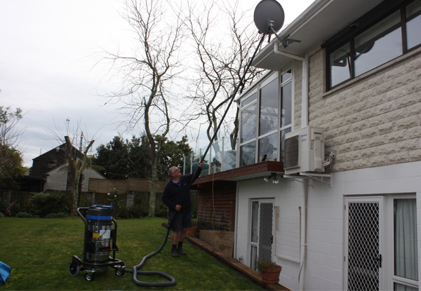 Gutter Clean for One-Storey Three-Bedroom House - Options for Two-Storey & up to Six-Bedroom House