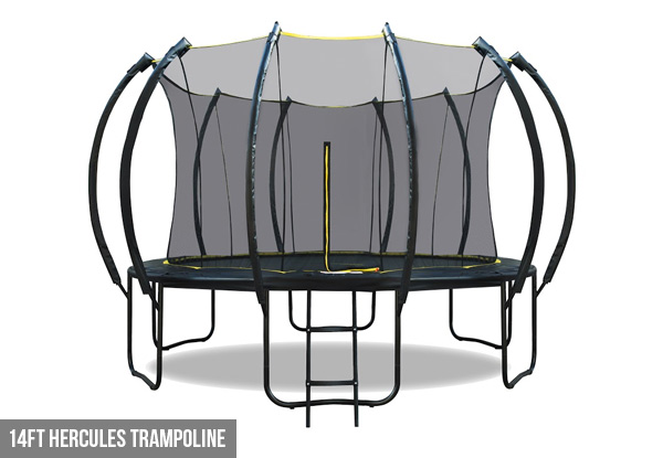 Pre-Order Hercules Trampoline - Three Sizes Available