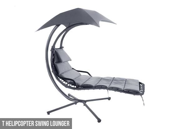 Pre-Order Helicopter Swing Lounger or Exterior Outdoor Lounger or Transat Sunbed