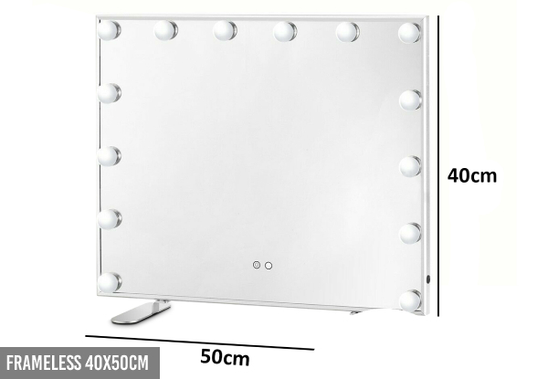 Hollywood Mirror Range - Five Options Available