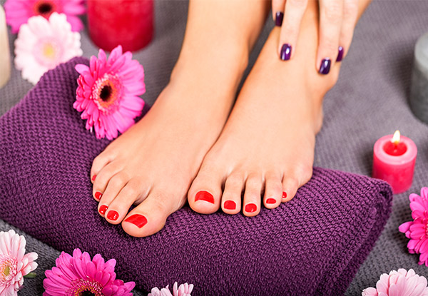 Gorgeous Manicure - Options for a Spa Pedicure, Gel Polish Manicure, Full Set of Acrylic or SNS Nails or a Standard Manicure & Full Spa Pedicure