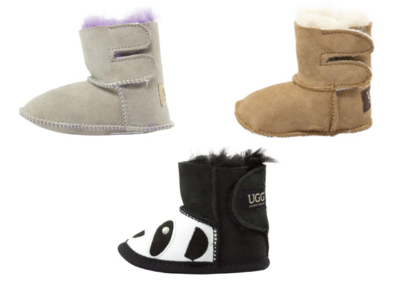 Auzland Classic 'Baby' Australian Sheepskin Baby UGG Boots - Three Colours Available
