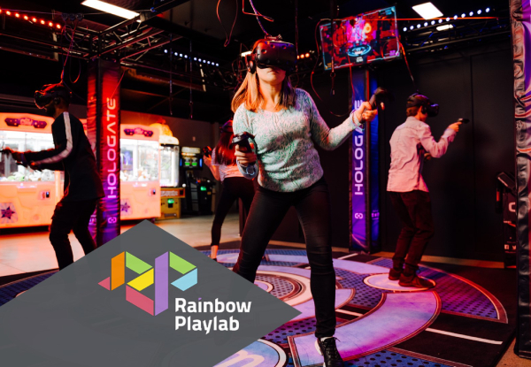 Playlab Premium VR Double Play for One Person incl. Two Plays on Angry Birds or World of Tanks