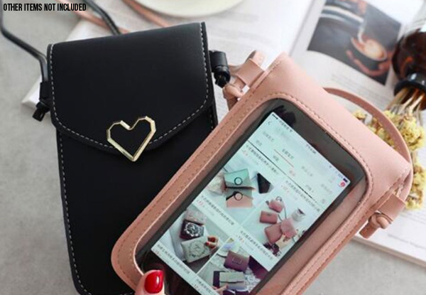 Touch Screen Cell Phone Purse - Five Colours Available