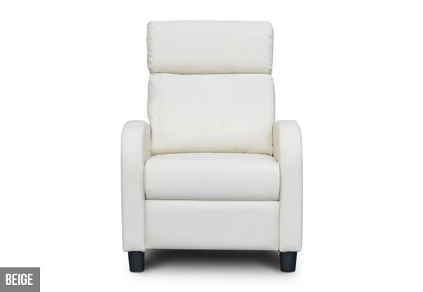 Recliner Sofa - Four Colours Available