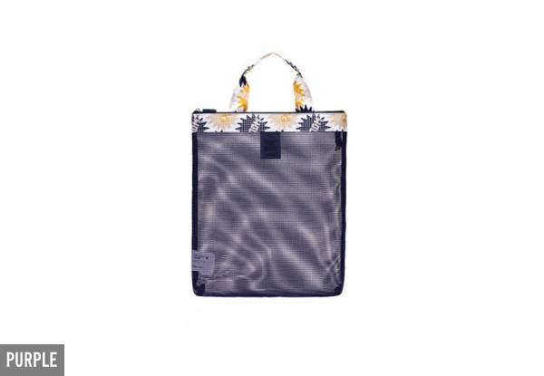 Beach Organiser Bag - Four Colours Available & Option for Two with Free Delivery