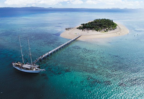 Three-Night Cruise Around Tropical Fiji for Two People incl. All Meals, Daily Island Stopovers, Activities & More – Options for Four-, Seven Night Cruises