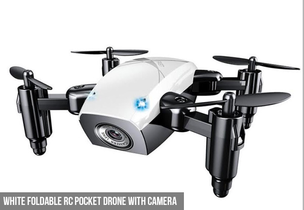 Foldable RC Pocket Drone - Two Colours Available - Option to incl. Camera with Free Delivery