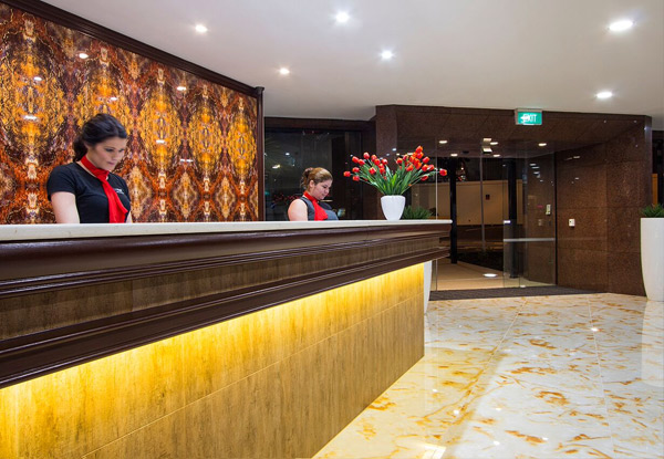 One-Night, 4.5 Star, City Centre Auckland Stay for Two People in a Deluxe King Room  incl. Breakfast, Parking & Late Checkout - Options for Two or Three Nights & Weekday or Weekend Stay
