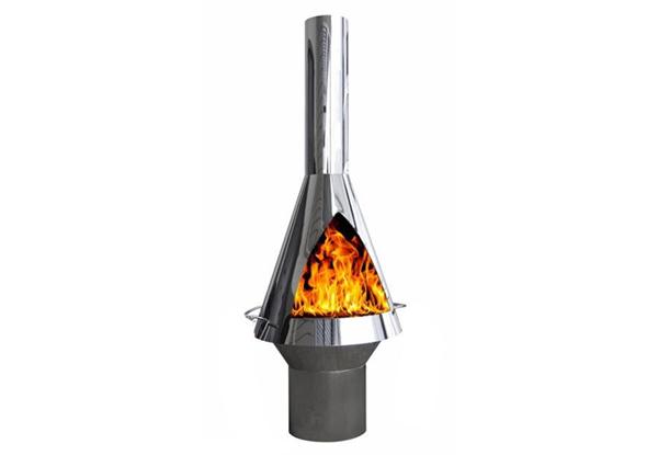 Stainless Steel Chiminea U2022 GrabOne NZ