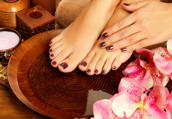 Nail Treatment Package - Options for an Express Manicure & Spa Pedicures