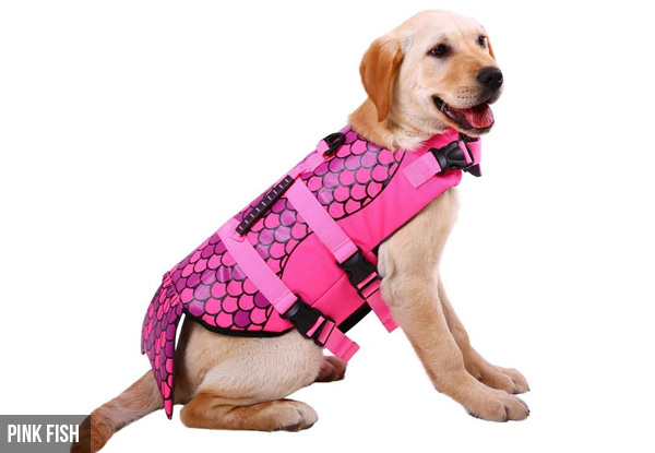 Dog Life Jacket Vest - Three Designs Available