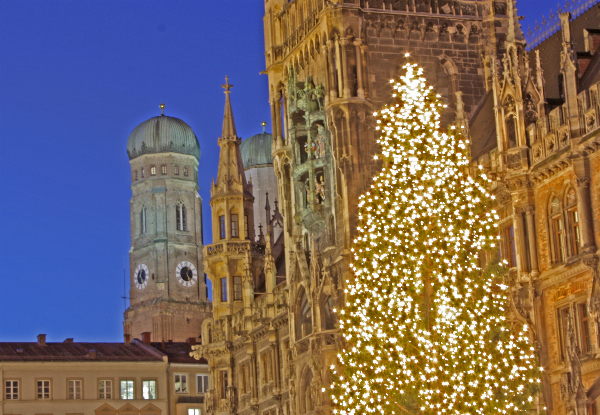 Per-Person, Twin-Share Eight-Day Christmas Market Package incl. Accommodation, Transport & More - Option for Solo Traveller Available