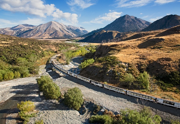 One-Night Family of Four TranzAlpine Getaway to Greymouth Top 10 Holiday Park incl. Return Train Tickets & Rental Car - Option for Two-Night Stay