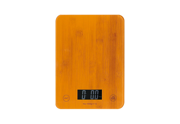Craig & Russell Bamboo Look Kitchen Scales