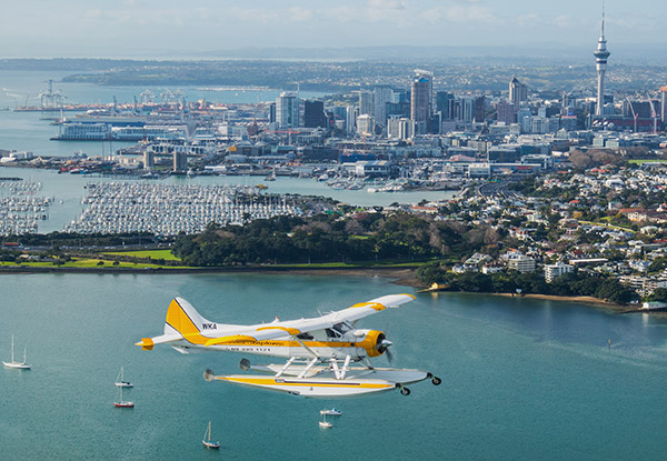 Seaplane Scenic Flight - Option to incl. a Three-Course Dining Experience or Carbon Zero
