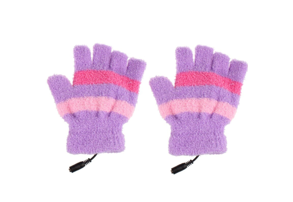 USB Heated Gloves - Three Colours Available with Free Delivery