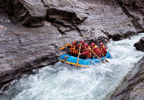4.5-Hour Helicopter Ride & Shotover White Water River Rafting Experience for One Person - Options for Up to Six People
